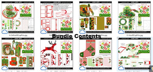 christmas printables advent bundle 2