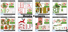Load image into Gallery viewer, christmas printables advent bundle 2
