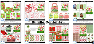christmas printables advent bundle 3