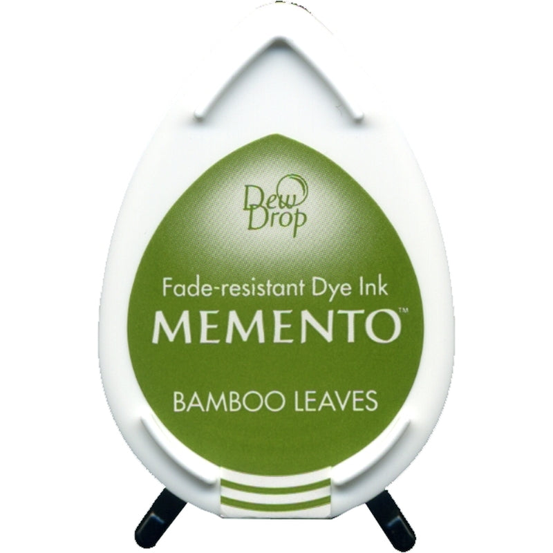Bamboo Leaves Green Dew Drop Memento Ink Pad from Tsukineko