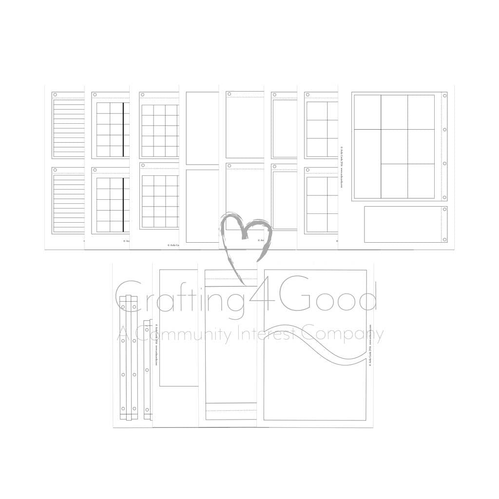Design your own printable life planner commercial use for Design my own planner