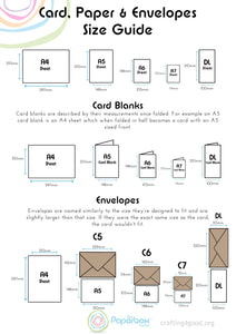 Free Paper, Card and Envelope Sizes Guide