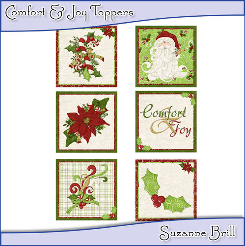 Comfort & Joy Toppers - The Printable Craft Shop
