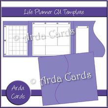 Load image into Gallery viewer, Design Your Own Printable Life Planner - Commercial Use Template - The Printable Craft Shop