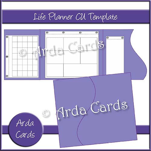 Design Your Own Printable Life Planner Commercial Use Template - Life planner template