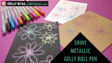 Load image into Gallery viewer, Metallic Red Gelly Roll Pen - Sakura