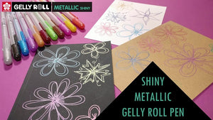 Metallic Red Gelly Roll Pen - Sakura