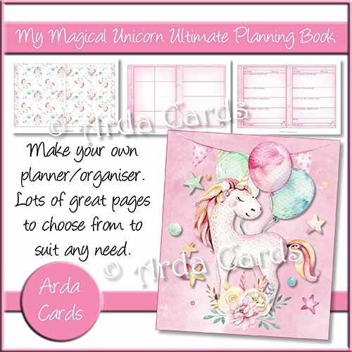My Magical Unicorn Ultimate Planning Book