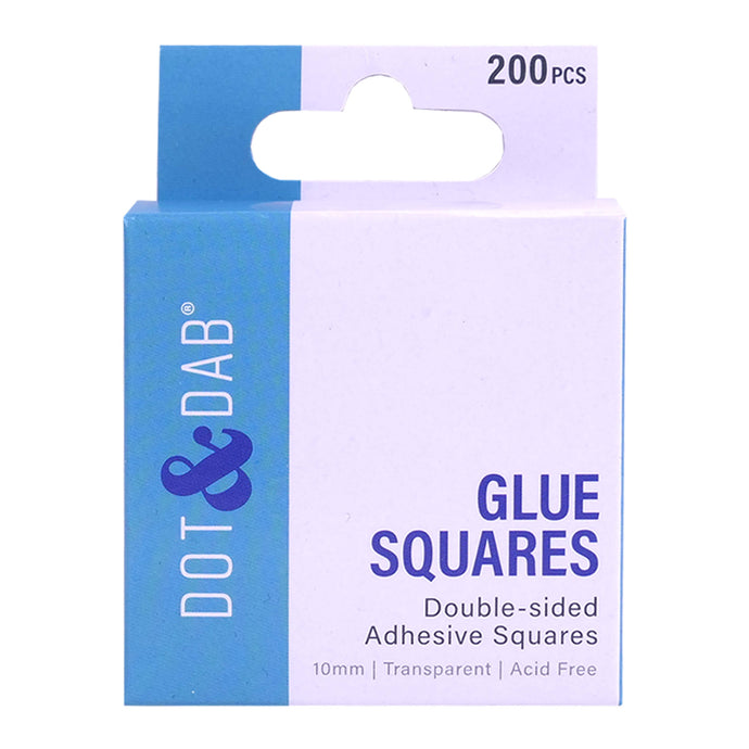 dot and dab glue squares