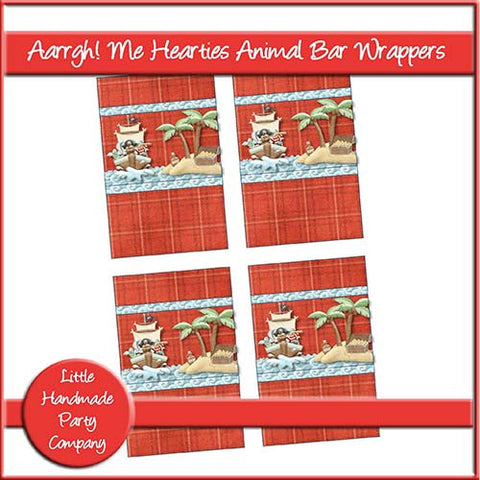 Aarrgh! Me Hearties Animal Bar Wrapper