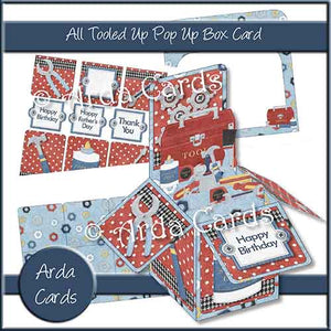 All Tooled Up Pop Up Box Card