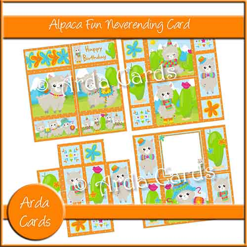 Alpaca Fun Neverending Card