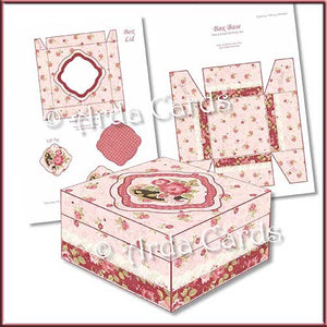 Square Printable Gift Box Bundle - The Printable Craft Shop