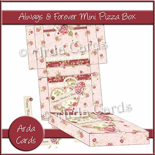 Always & Forever Mini Pizza Box