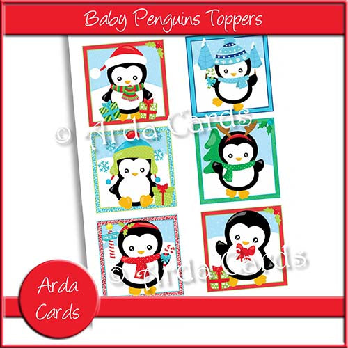 Baby Penguin Toppers Printable