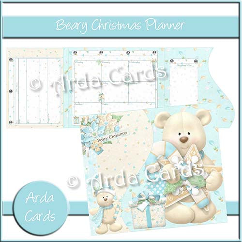 Beary Christmas Printable Planner