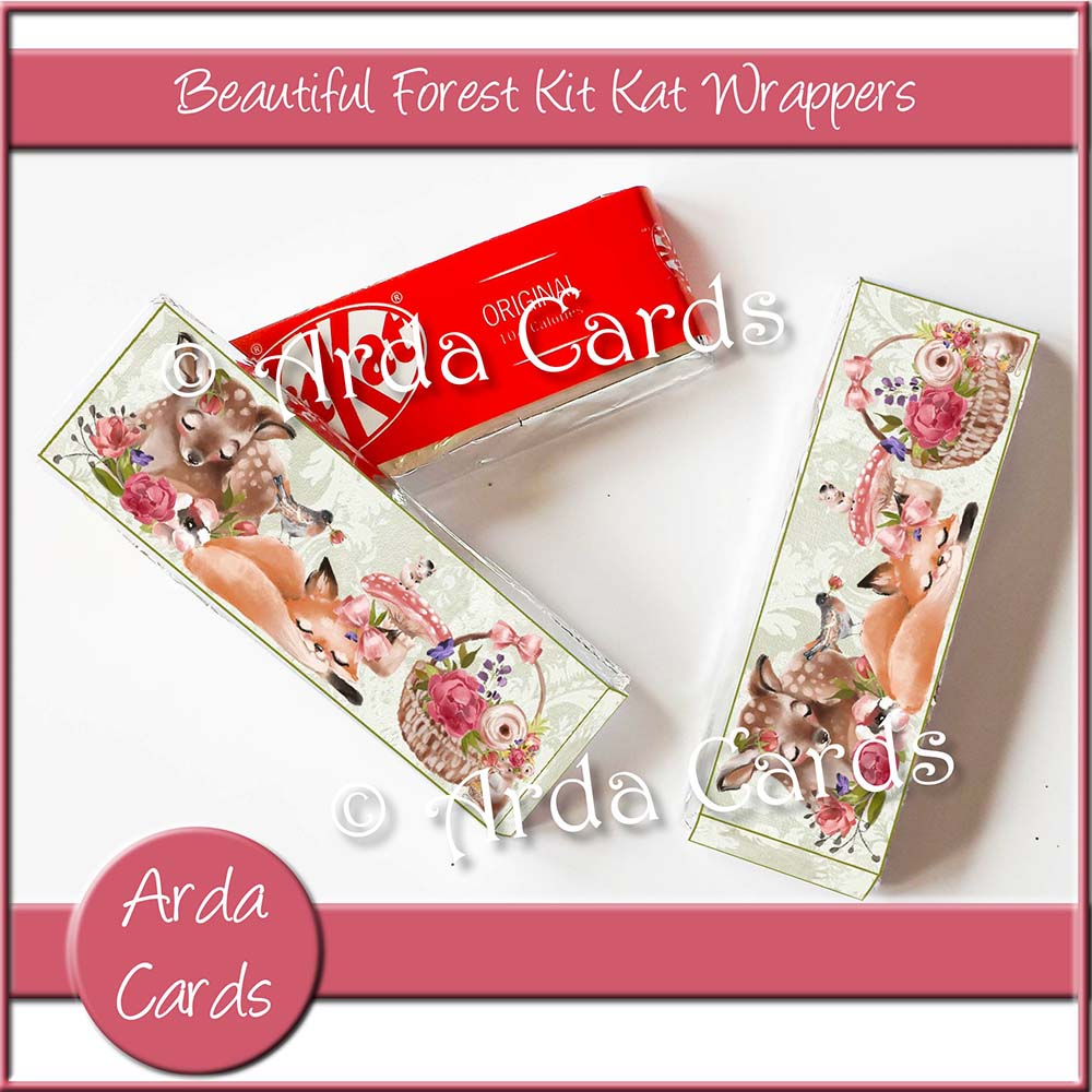 Beautiful Forest Kit Kat Wrappers