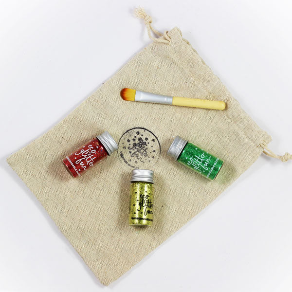 Biodegradable Glitter Christmas Craft Set