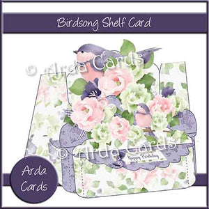 Birdsong Shelf Card