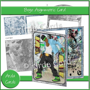 Boyz Asymmetric Card