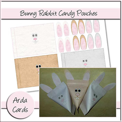 Bunny Rabbit Candy Pouches
