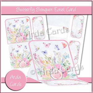 Butterfly Bouquet Easel Card