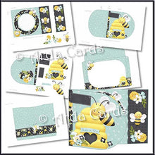 Load image into Gallery viewer, Buzzin' D Flap Printable Wrap Around Card - The Printable Craft Shop - 2