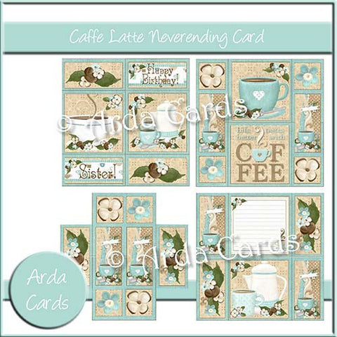 Caffe Latte Neverending Card
