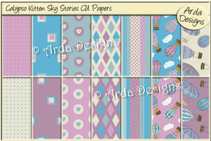 Calypso Kitten Sky Stories CU Papers