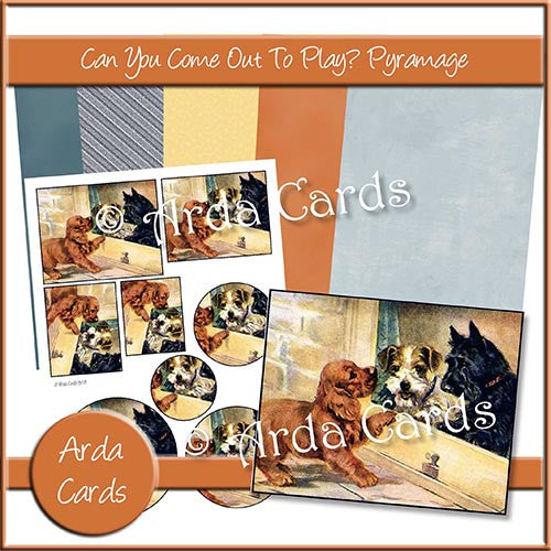 Can You Come Out To Play? Pyramage Set - The Printable Craft Shop