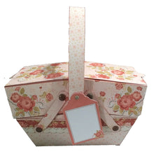 Load image into Gallery viewer, Enchanting Flowers Cantilever Box - The Printable Craft Shop