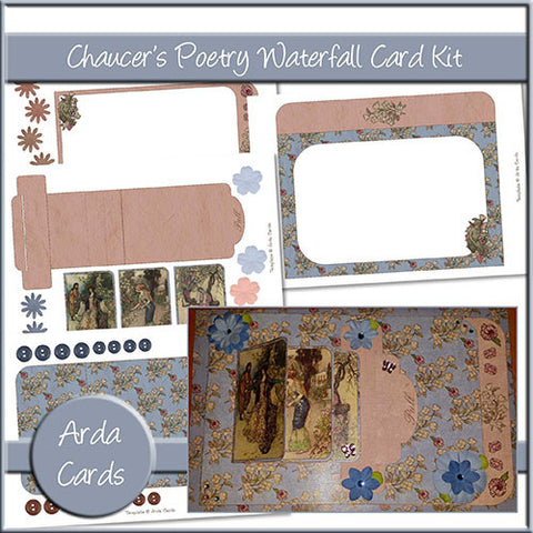 Chaucer's Poetry Waterfall Card Kit
