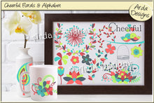 Load image into Gallery viewer, Cheerful Florals & Alphabet