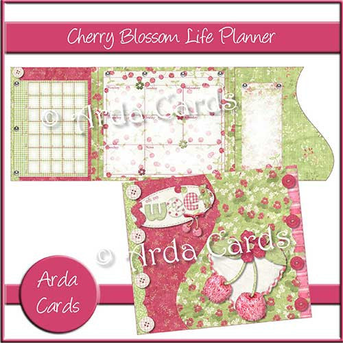 Cherry Blossom Printable Life Planner - The Printable Craft Shop