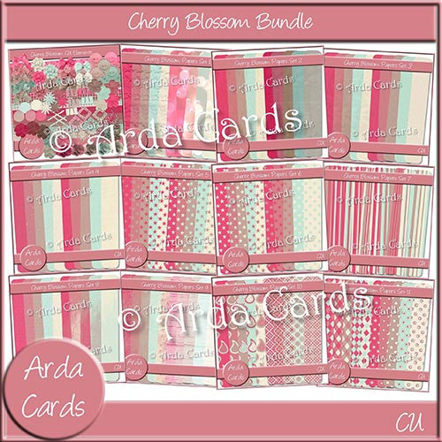 Cherry Blossom Bundle - The Printable Craft Shop