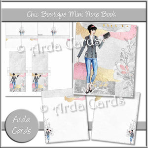 Chic Boutique Mini Notebook