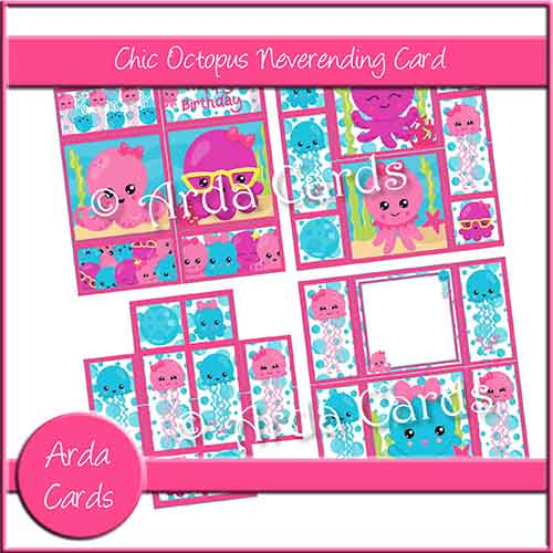 Chic Octopus Neverending Card
