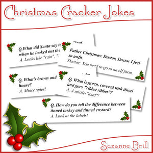 Christmas Cracker Jokes.Christmas Cracker Jokes Printable
