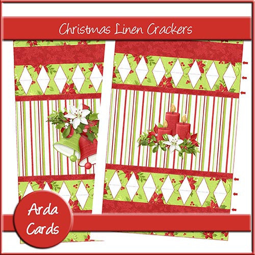 Christmas Linen Crackers - The Printable Craft Shop