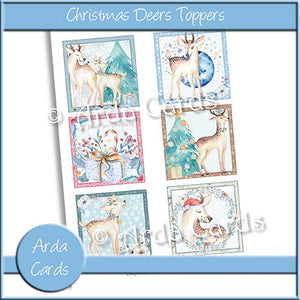 Christmas Deers Toppers