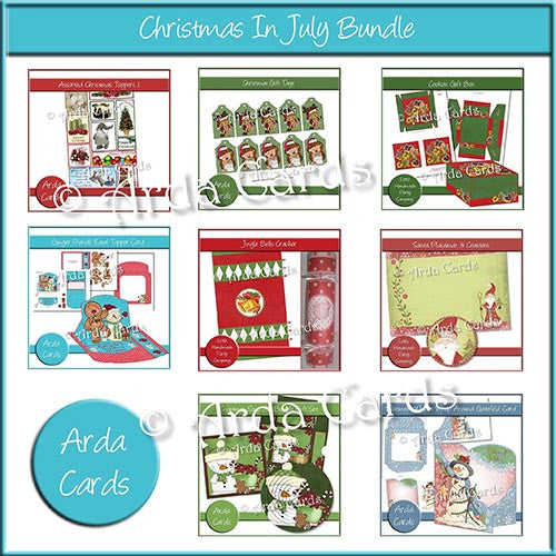 Christmas In July Bundle - The Printable Craft Shop