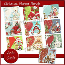 Load image into Gallery viewer, Christmas Planner Bundle