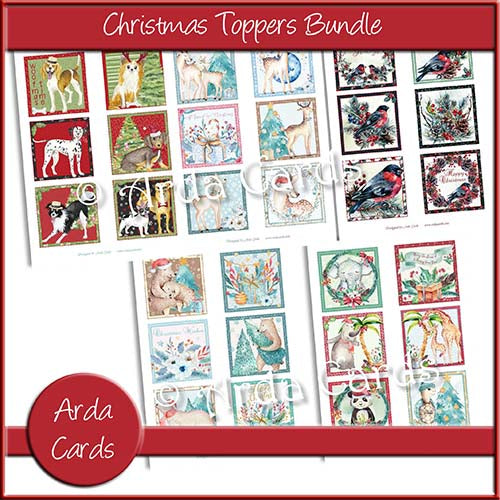 Printable Christmas Toppers Bundle