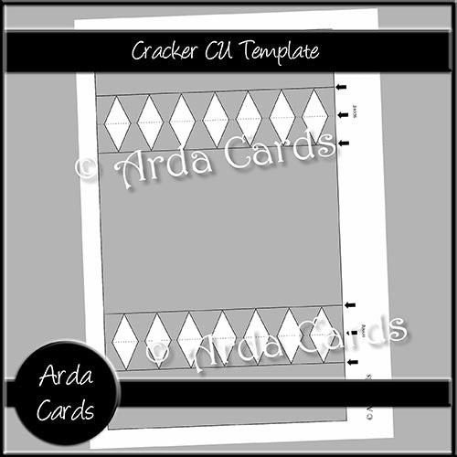 Cracker CU Template - The Printable Craft Shop