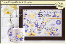 Load image into Gallery viewer, Crocus Blooms Florals & Alphabet