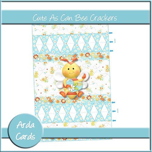 Cute As Can Bee Cracker - The Printable Craft Shop