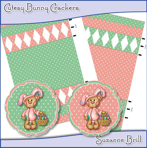 Cutesy Bunny Crackers - The Printable Craft Shop