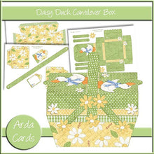 Daisy Duck Cantilever Box - The Printable Craft Shop - 1