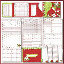 Load image into Gallery viewer, Deck The Halls Printable Christmas Planner Printable