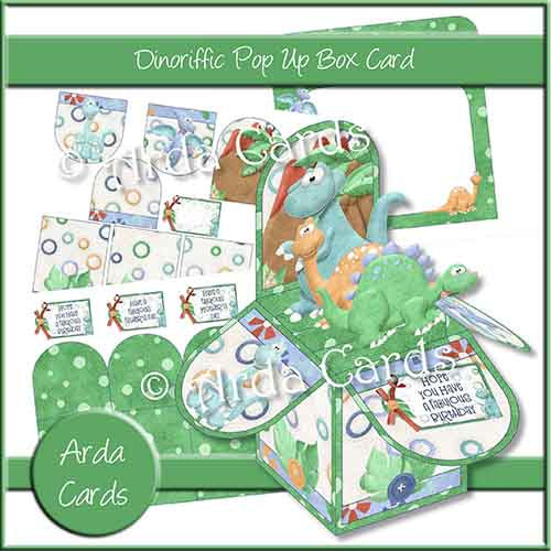 Dinoriffic Pop Up Box Card